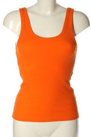 Minimum Basic topje licht Oranje casual uitstraling