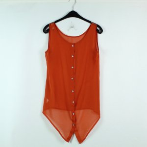 Minimum Bluse Gr. S orange transparent (20/02/573*)