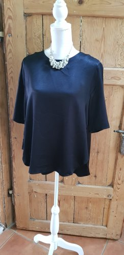 Minimum Blusa ancha negro Viscosa