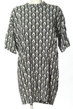Minimum Blouse Dress white-black allover print casual look