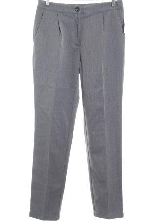 Minimum Pleated Trousers dark grey business style