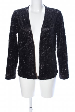 Minimum Cardigan schwarz extravaganter Stil