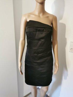Minimum Robe bandeau noir polyester