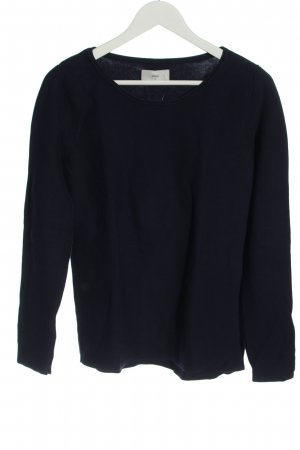 Minimum Coarse Knitted Sweater blue casual look