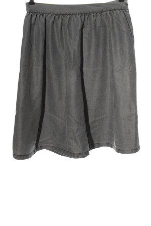 Minimum Jupe taille haute gris clair style décontracté