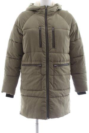 Minimum Manteau à capuche kaki style décontracté
