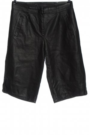 Minimum Faux Leather Trousers black casual look