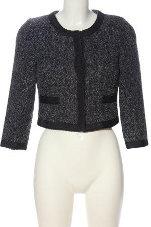 Minimum Blazer corto gris claro-negro moteado estilo «business»
