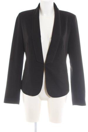 Minimum Korte blazer zwart casual uitstraling