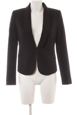 Minimum Kurz-Blazer schwarz klassischer Stil