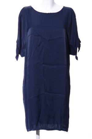 Minimum Kurzarmkleid blau Casual-Look