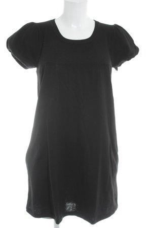 Minimum Kurzarmkleid schwarz Casual-Look