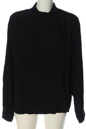 Minimum Blusa de manga larga negro look casual