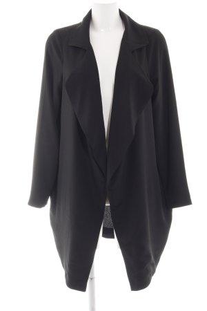 Minimum Lange Jacke schwarz Business-Look