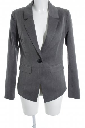 Minimum Long-Blazer grau-hellgrau meliert Business-Look