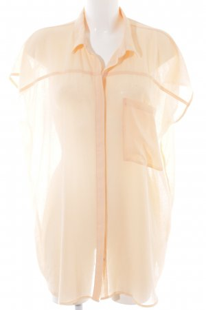 Minimum Long-Bluse apricot Business-Look