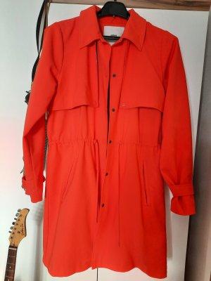 Minimum Płaszcz przejściowy pomarańczowy neonowy