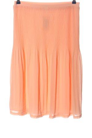 Minimum Spódnica midi jasny pomarańczowy W stylu casual