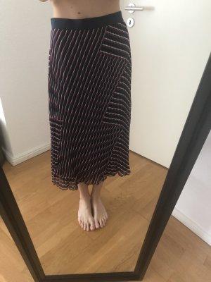 Minimum Spódnica midi fioletowy-ciemnoniebieski