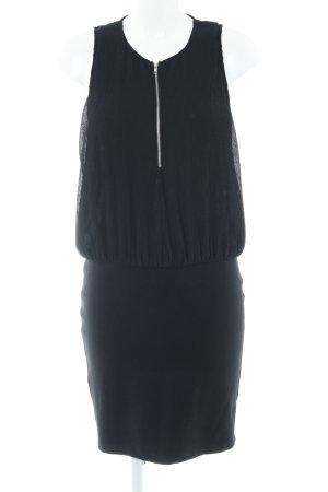 Minimum Minikleid schwarz Casual-Look