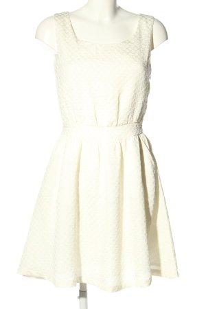 Minimum Sukienka mini w kolorze białej wełny W stylu casual