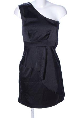 Minimum One-Shoulder-Kleid schwarz Elegant