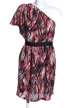 Minimum One Shoulder Dress abstract pattern casual look