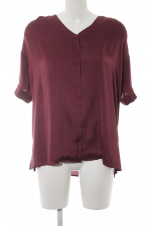 Minimum Oversized Bluse bordeauxrot Casual-Look