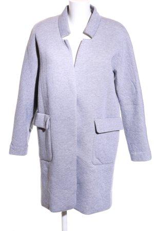 Minimum Oversized Mantel blau meliert Casual-Look