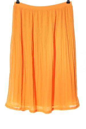 Minimum Pleated Skirt light orange casual look