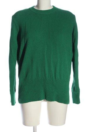 Minimum Rundhalspullover grün Casual-Look