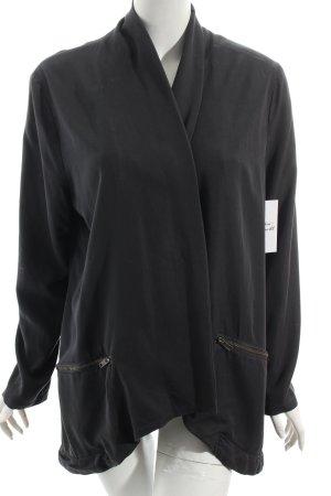 Minimum Shirtjacke grau Street-Fashion-Look