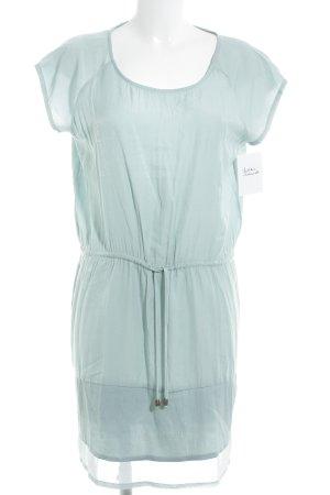 Minimum Vestido estilo camisa azul pálido look casual