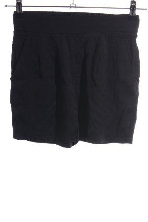 Minimum Spodenki czarny W stylu casual