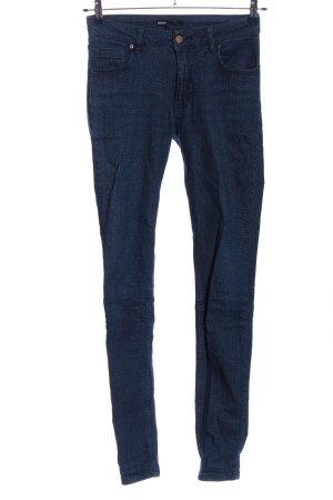 Minimum Jeans skinny blu stampa integrale stile casual