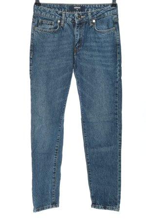 Minimum Slim Jeans blau Casual-Look