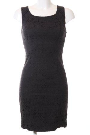 Minimum Spitzenkleid schwarz Elegant