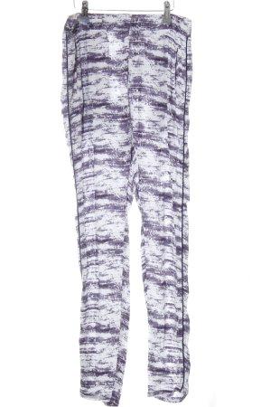 Minimum Jersey Pants black-white abstract pattern extravagant style
