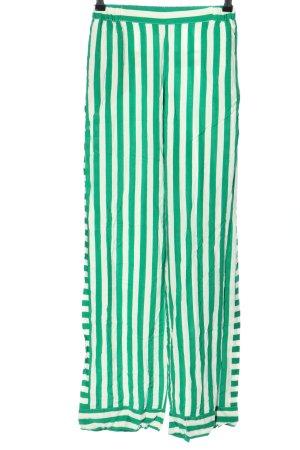 Minimum Jersey Pants green-white striped pattern casual look