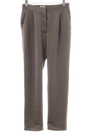 Minimum Pantalon en jersey brun style d'affaires