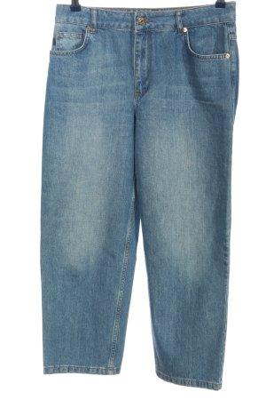 Minimum Straight-Leg Jeans blau Casual-Look