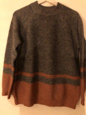 Minimum Jersey de punto rosa-gris