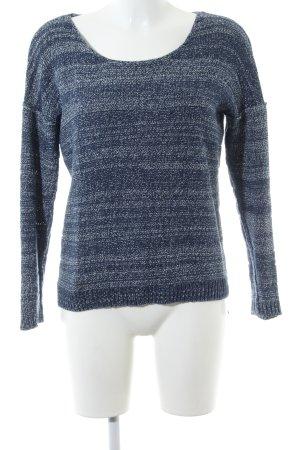 Minimum Strickpullover blau meliert Casual-Look