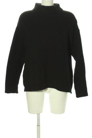 Minimum Pull tricoté noir style décontracté