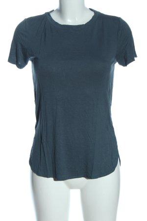 Minimum T-shirts en mailles tricotées bleu style décontracté