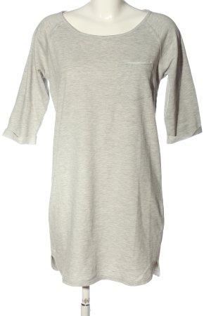 Minimum Robe Sweat gris clair moucheté style décontracté