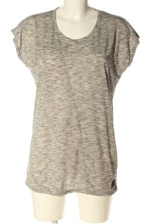 Minimum T-Shirt hellgrau meliert Casual-Look