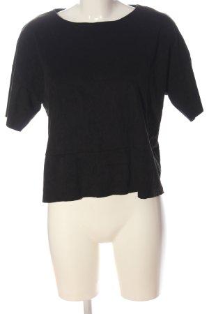 Minimum T-shirt nero stile casual