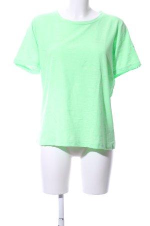 Minimum T-Shirt grün Casual-Look