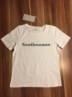Minimum weißes T-shirt Gr. S Gentlewoman leicht oversized Schnitt Baumwolle Neu kurzarm